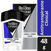 Desodorante Antitranspirante Rexona Men Clinical Clean 48g -
