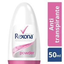 Desodorante Antitranspirante Rollon Rexona Powder 50ml -