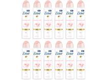 Desodorante Dove Aerosol Antitranspirante Feminino - Powder Soft 12 Unidades