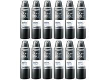 Desodorante Dove Aerosol Antitranspirante - Masculino sem Perfume 12 Unidades