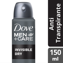 Desodorante Dove Men Care Invisible Dry Masculino Aerosol 89g
