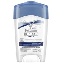 Desodorante em creme rexona 48g clinical men - Sem marca