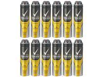 Desodorante Rexona Aerossol Antitranspirante - Masculino Men V8 12 Unidades