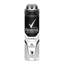 Desodorante Rexona Invisible Masculino Aerosol 90g -