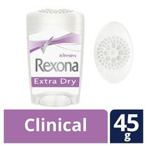 Desodorante Stick Rexona Clinical Women Extra Dry 45g