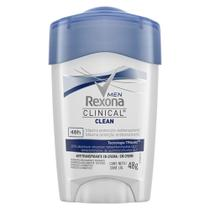Desodorante Stick Rexona Masculino Clinical 48g