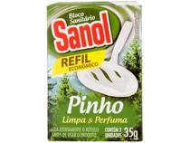 Desodorizador Sanitário Bloco Sanol - Pinho Refil 35g
