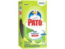 Desodorizador Sanitário Gel Adesivo Pato Citrus - Refil 80g -