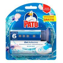 Desodorizador Sanitário Pato Gel Adesivo Marine 38g Ganhe Aplicador - Pato Purif