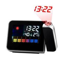 Despertador Digital c/ Projetor de Horas Preto DS8190 - Zgp