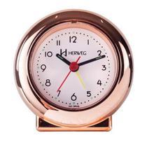 Despertador Quartz Herweg Ref: 2641-309 Rosé -