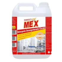 Detergente Alcalino Clorado Gel Perfect Food MEX Gl/ 5 L. Com alta formação de espuma. - SUNQUIMICA