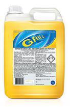 Detergente Desincrustante Alcalino - Limpa, Grelha, Forno, Coifa, Etc. - Silver Chemical