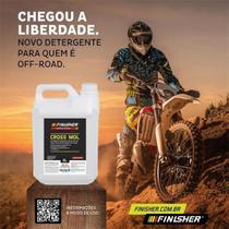 Detergente Desincrustante Neutro - Cross Mol 5L - Finisher -