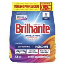 Detergente em Po Limpeza Total 5,6kg 1 UN Brilhante -