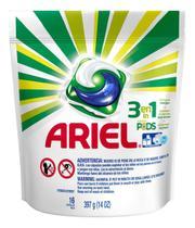 Detergente Lava Roupas Ariel 3 Em 1 Pods - 16 Cápsulas -