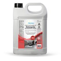 Detergente Liquido Desengordurante Chef Alcalino 5L 1 UN Renko -