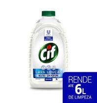 Detergente Líquido Lava-Louças Cif sem Perfume - Pro Profissional 3L -