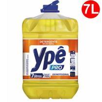Detergente Líquido Neutro YPÊ PRO 7 Litros 1:100. Rende até 700 litros - Ype -