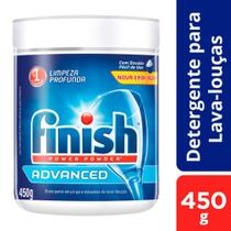 Detergente Pó Lavar Louças Finish Power Powder Advanced 450G -