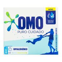 Detergente Po Omo Cartucho Puro Cuidado 800g -