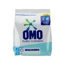 Detergente Po Omo Puro Cuidado 400g -
