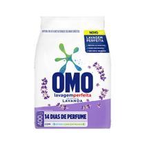 Detergente Po Omo Puro Cuidado Lavanda 400g -