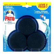 Detergente Sanitário Pato Bloco para Caixa Acoplada Marine 40g -