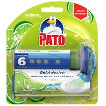 Detergente Sanitário Pato Gel Adesivo com Aplicador Citrus 38g -