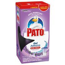 Detergente Sanitário Pato Gel Adesivo Lavanda 12g 2 Discos -