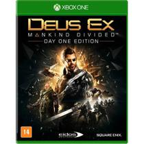 Deus Ex Mankind Divided Xbox One Day One Edition + Dlcs - Microsoft