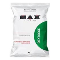 Dextrose - 1kg - Sem Sabor - Max Titanium -