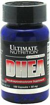 DHEA 25mg Ultimate Nutrition 100 Cápsulas - Monster suplementos