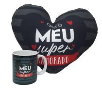 Dia dos Namorados Presente Para Namorado Caneca e Almofada - Sude