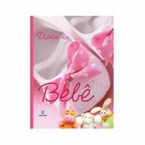 Diário álbum do bebê para fotos e anotações - Rosa - Culturama
