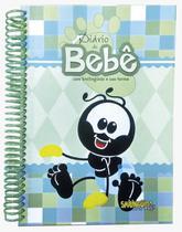 Diário do Bebe com Smilinguido e Sua Turma Masculino Verde - Vida E Luz