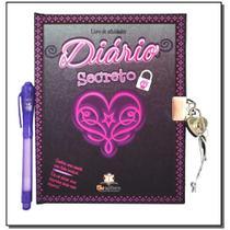 Diário Secreto: Livro de Atividades - Preto - Blu -