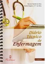 Diário Técnico de Enfermagem - Anotações de Rotina - Editora martinari