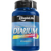 Diarium 45 Comprimidos  - Vitamin Life - Vitaminlife