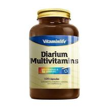 Diarium Multivitamínico - 120 Cápsulas - VitaminLife -