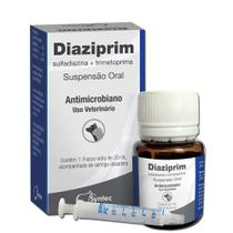 Diaziprim Antimicrobiano Suspensão Oral 20ml - Syntec