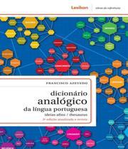 Dicionario analogico da lingua portuguesa - 3 ed - Lexikon