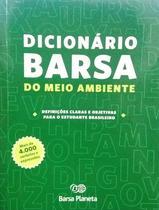 Dicionário Barsa do Meio Ambiente - Editora barsa planeta