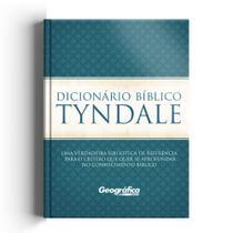 Dicionario Biblica Tyndale - Azul - Geográfica