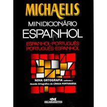 Dicionário Escolar Espanhol Michaelis Melhoramentos - Editora Fenix