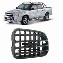 Difusor de Ar Blazer S10 2001 a 2011 Central Cinza Lado Esquerdo - Autoplast