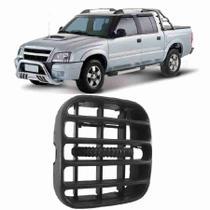 Difusor de Ar Blazer S10 2001 a 2011 Lateral Cinza Lado Esquerdo - Autoplast