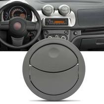 Difusor de Ar Central Painel Novo Uno 10 a 17 Nova Fiorino 13 a 17 Cinza com Dispositivo de Montagem - Auto quality