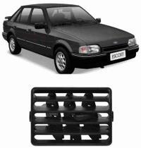 Difusor de Ar Escort 1987 a 1992 Central ou Lateral Aro Preto - Autoplast