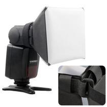 Difusor P/ Flash Softbox Pixco Universal Canon Sony Nikon - Dedcases